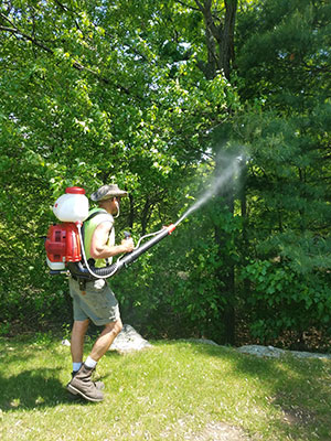Organic Mosquito & Tick Control Application